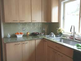 glass back splash lovely green glass backsplash brown tile topic related to best