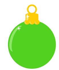 season 45 frightening green ornaments photo