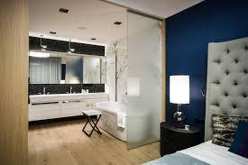 Open Bathroom Bedroom by
