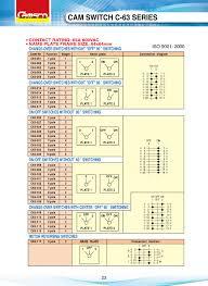 rotary cam switch wiring diagram dolgular com