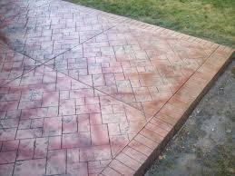 Concrete Patio Blocks Decorative Concrete Colored Stamped Concrete Textured Concrete
