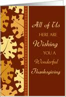 thanksgiving cards for employees from greeting card universe