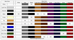 what color shoes to wear with pants business insider