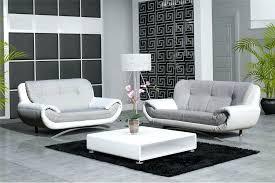 canapé blanc cuir canape blanc gris canape angle cuir gris blanc georgiapopplewell info
