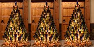large brown christmas tree pleasant idea wine bottle christmas tree build building a holder