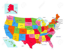 Canada And Usa Map by Usa Map States And Capitals Map Usa Capitals Map Images Maps Of