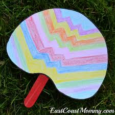 East Coast Mommy Simple Summer Crafts With Free Printable Templates