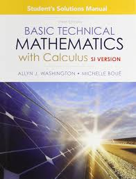 student solutions manual for basic technical mathematics with