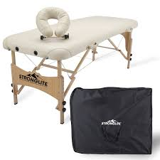 Oakworks Massage Tables by Amazon Com Stronglite Portable Massage Table Package Shasta All
