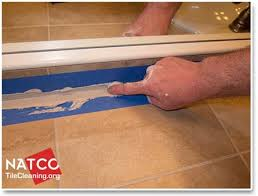 best caulking techniques for re caulking a tile countertop