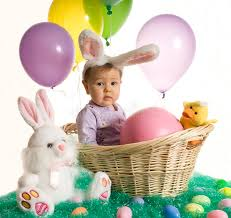 easter pictures with baby easter baby stock image image of easter basket kids 4892147