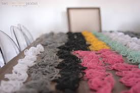 diy designs diy yarn wall art two thirty five designs