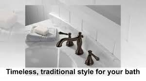delta faucet 3597lf rbmpu cassidy two handle wide spread lavatory