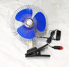 12 volt clip on fan e2c 8 12 volt car fan truck fan with clip cigarette lighter
