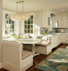 kitchen island with built in table built in bench seating for inspirations also attractive kitchen