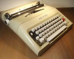 oz typewriter olivetti lettera 35 portable typewriter and manual