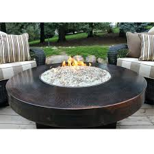 Gas Fire Pit Table And Chairs Round Propane Fire Pit U2013 Jackiewalker Me