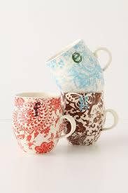 homegrown monogram mug anthropologie