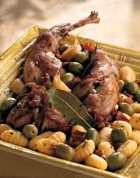 cuisine lapin au vin blanc recette lapin aux olives et aux gnocchis