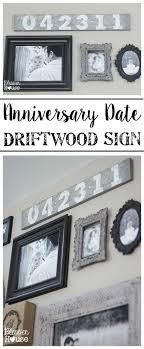 cheap anniversary gifts anniversary date driftwood sign driftwood signs driftwood and