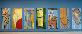 the bedroom van gogh domestic dreams van gogh s bedrooms at the art institute of