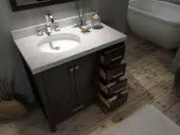 Bathroom Vanity With Drawers On Left Side Bathroom Vanity Cabinet Left Side Sink 36 Inch Marble Top Bathroom
