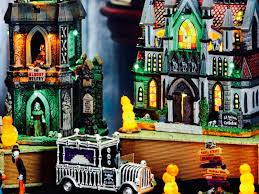 lemax halloween houses lemax spooky town 2016 new products youtube