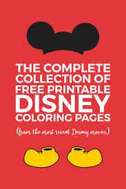 25 disney coloring sheets ideas kids coloring