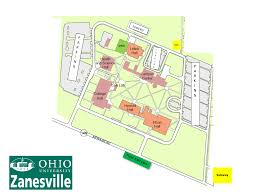 Southern Ohio Map by Visiting Ohio University Zanesville Campus