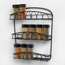 Wall Mount Spice Cabinet With Doors Furniture Beautiful Wall Mount Spice Rack Wire Wall Mount Spice