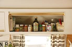 Kitchen Overhead Cabinets Thoughts On A Tiny Kitchen U2013 Mavis The Airstream