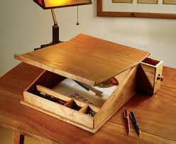 Woodworking Plans Desk Organizer by Portable Writing Desk Writing Desk Desks And Woodworking