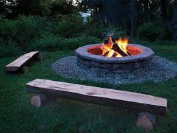 Bbq Side Table Plans Fire Pit Design Ideas - how to outdoor fire pit ideas u0026 designs fossils concrete and stone