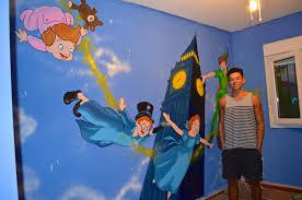 peter pan mural on behance