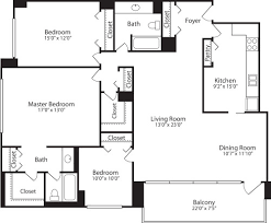 Mount Vernon Floor Plan Skyline Towers Apartments In Baileys Crossroads 5599 Seminary Rd