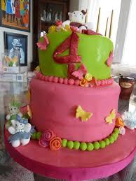 grand daughter u0027s 4th birthday cake and cupcake give aways