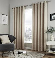 dale lined eyelet curtains geometric moroccan pattern ready made
