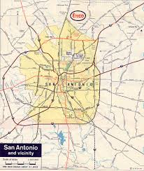 City Of Austin Map by Texasfreeway U003e San Antonio U003e Historical Information U003e Old Road Maps