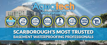 basement waterproofing scarborough 416 300 2191 aquatech