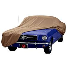 car cover for mustang covercraft mustang car cover block it 380 with tri bar logo 1965 1968