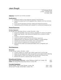 Basic Resume Skills Kitchen Resume Skills Resume For Your Job Application