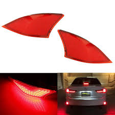 red lexus is 250 amazon com ijdmtoy 2 oem red lens 69 smd red led bumper