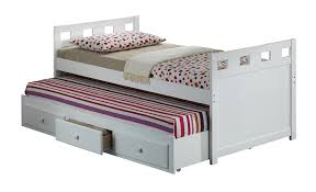 Queen Bed With Twin Trundle Bedroom Twin Captain Bed With Trundle Captains Beds King Size