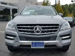 pre owned mercedes m class certified pre owned 2015 mercedes m class ml 250 suv in