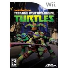 teenage mutant ninja turtles wii walmart