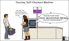 Self Checkout Meme - douchey self checkout machine oc imgur