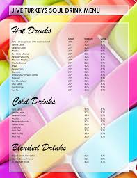 drink menu template free 5 plus attractive drink menu templates for your bar business