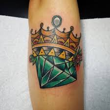 diamond tattoo neo traditional 50 crown tattoo ideas for men and women in 2017 2018 neo