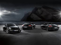 porsche boxster black edition boxster s black edition has more features more value and more