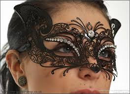 venetian mask cat black metal venetian mask accessories